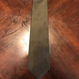 Donna Karan Signature neck tie new with tags Green